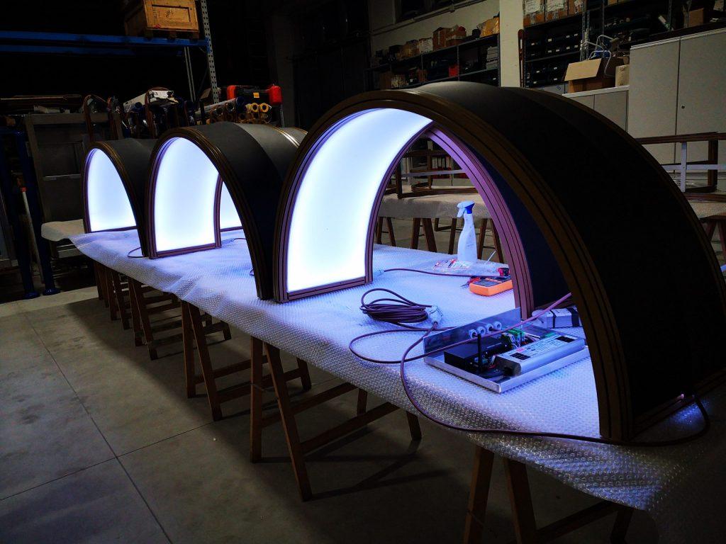 preparazione light system RGB